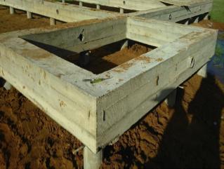 Cвайно-ростверковый фундамент