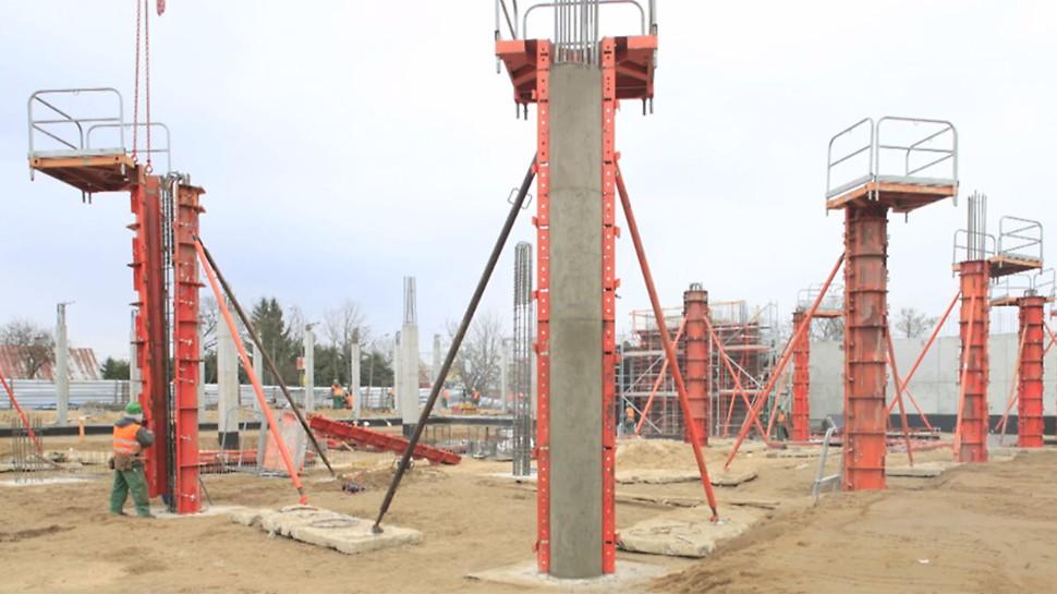 бетонные колонны